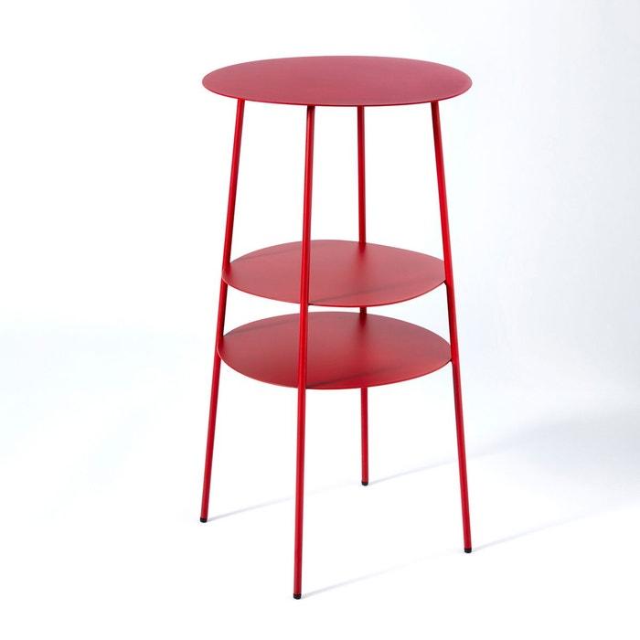 Chevet métal rouge, Fractale