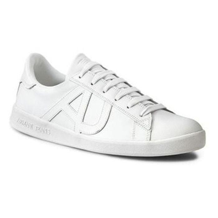 super popular 930e1 67516 Basket armani jeans blanc Armani Jeans La Redoute GH8HUA1Z -  destrainspourtous.fr