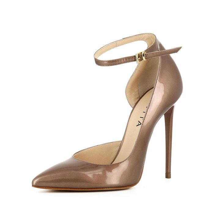 Escarpins femme semi-ouverts  bronze Evita  La Redoute