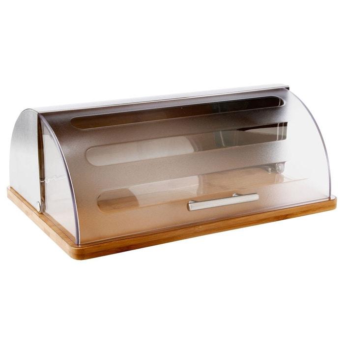 bo te pain avec base bambou marron secret de gourmet la redoute. Black Bedroom Furniture Sets. Home Design Ideas