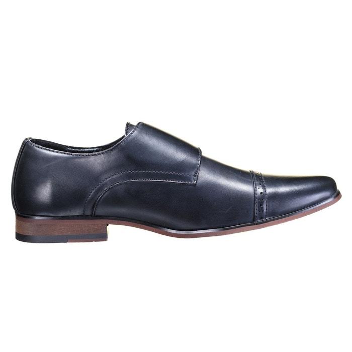 Chaussure derbie à boucles noir Galax