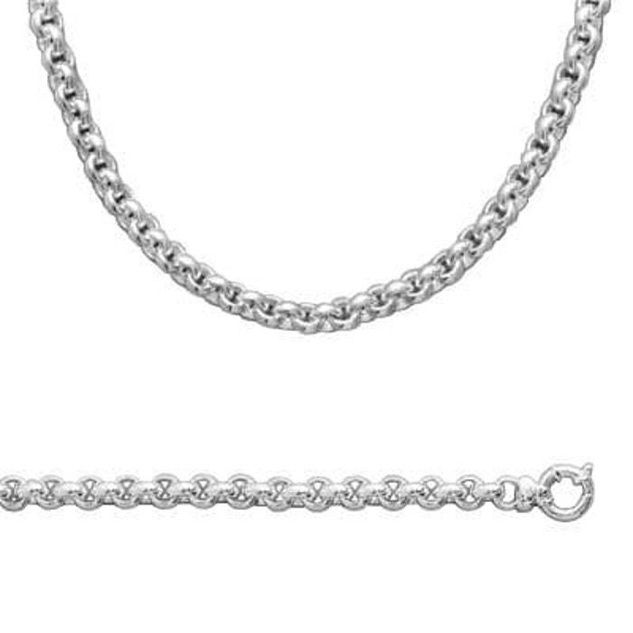 Chaîne collier femme 45 cm maille extra large argent 925 couleur unique So Chic Bijoux   La Redoute Pas Cher 2018 uR2nU9A1n