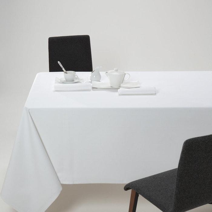 nappe unie pur coton serg trait anti taches violine scenario en solde la redoute. Black Bedroom Furniture Sets. Home Design Ideas
