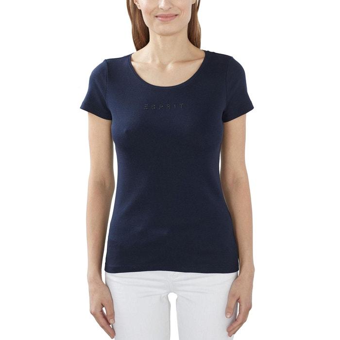 afbeelding T-shirt in katoen met korte mouwen ESPRIT
