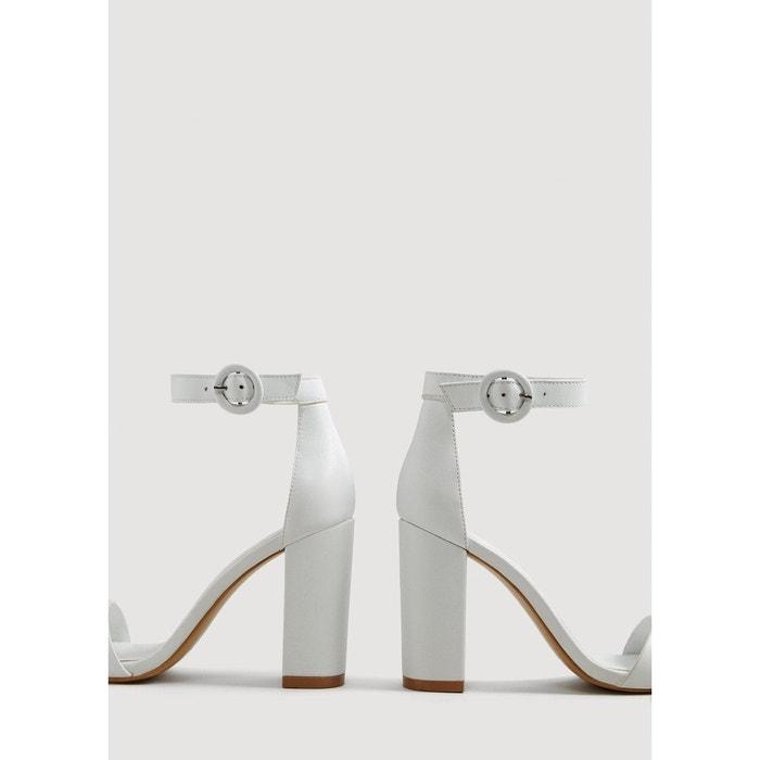 Sandales cuir en MANGO à bride v1BqPF