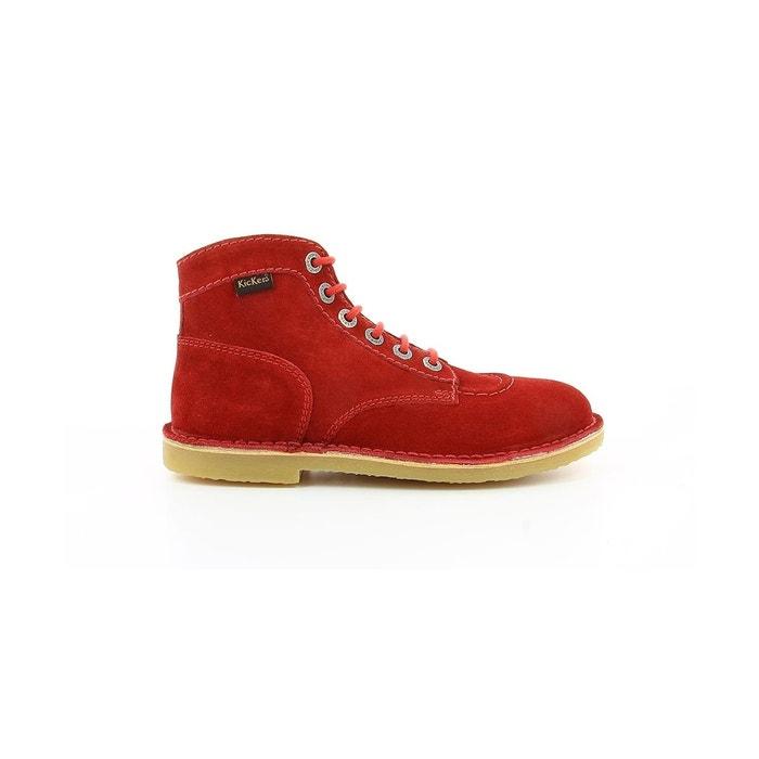 Orilegend F - Chaussures À Lacets Pour Femmes / Kickers Brun riGO3x1