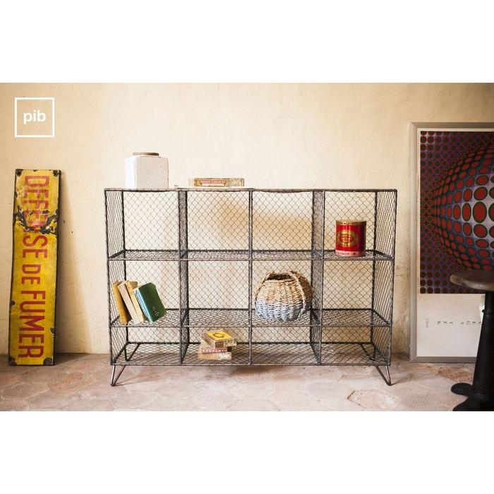console ontario gris produit interieur brut la redoute. Black Bedroom Furniture Sets. Home Design Ideas