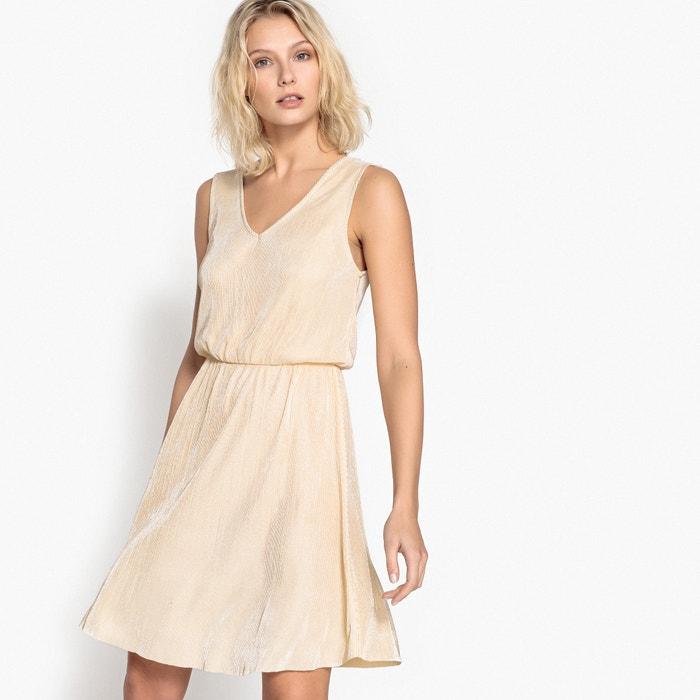 Pleated Plissé Dress  La Redoute Collections image 0