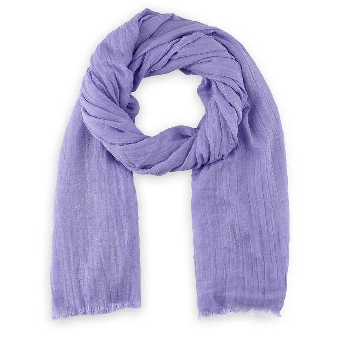 Chèche  touch  viscose lavande violet Allee Du Foulard   La Redoute d0b5db742d5