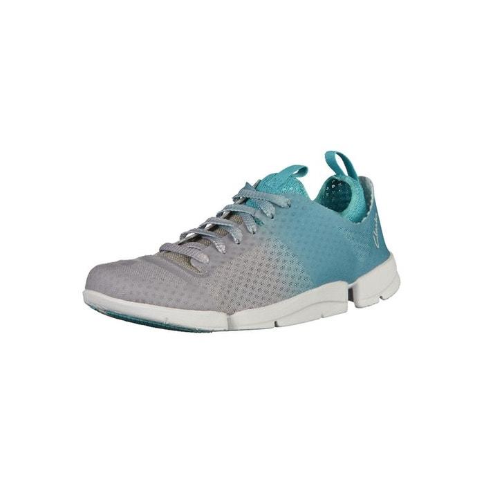 Meilleurs Prix En Ligne Pas Cher Pas Cher Faire Acheter Sneaker gris turquoise Clarks abordable IIU1e