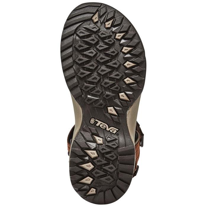 Terra fi lite leather - sandales femme - marron marron Teva