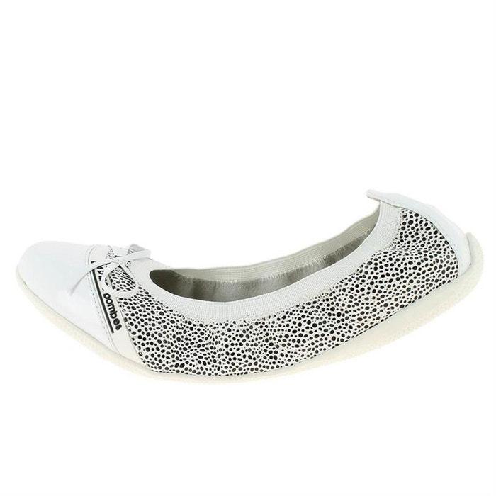 Ballerines   babies cuir blanc Lpb Shoes   La Redoute 5ba11afb1d21