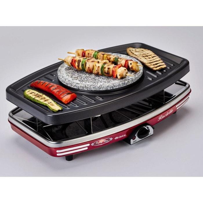 Ariete appareil raclette 8 personnes 1200w fondue - Appareil raclette 10 personnes ...