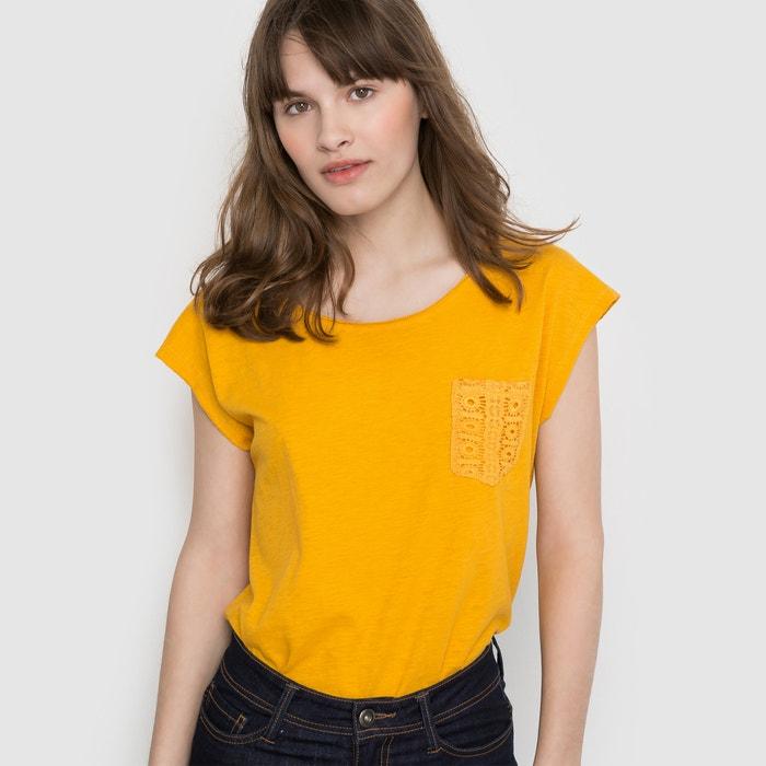 Imagen de Camiseta con bolsillo de encaje R édition