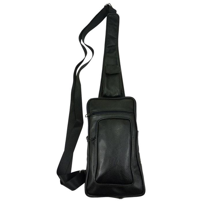Sacoche holster cuir de vachette noir noir Chaussmaro | La Redoute L'arrivée De Nouveaux Prix Pas Cher rGVJtl
