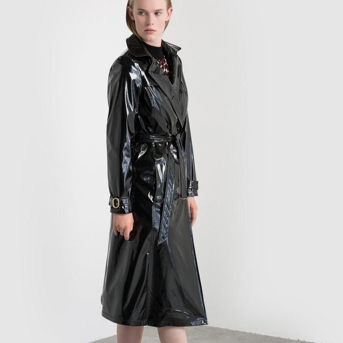 afbeelding Trenchcoat met uitneembaar fleece voering Isabelle Thomas x La Redoute