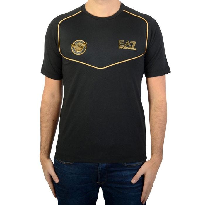 Tee-shirt ea7 noir Emporio Armani Ea7   La Redoute c744be9fb73