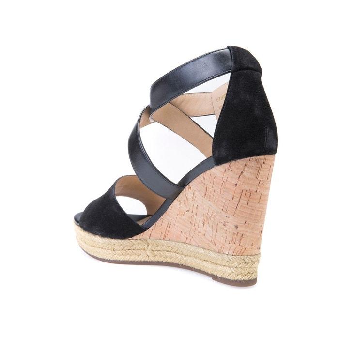 Sandales compensées cuir d janira e Geox
