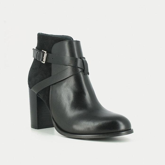 Boots cuir delaila Jonak