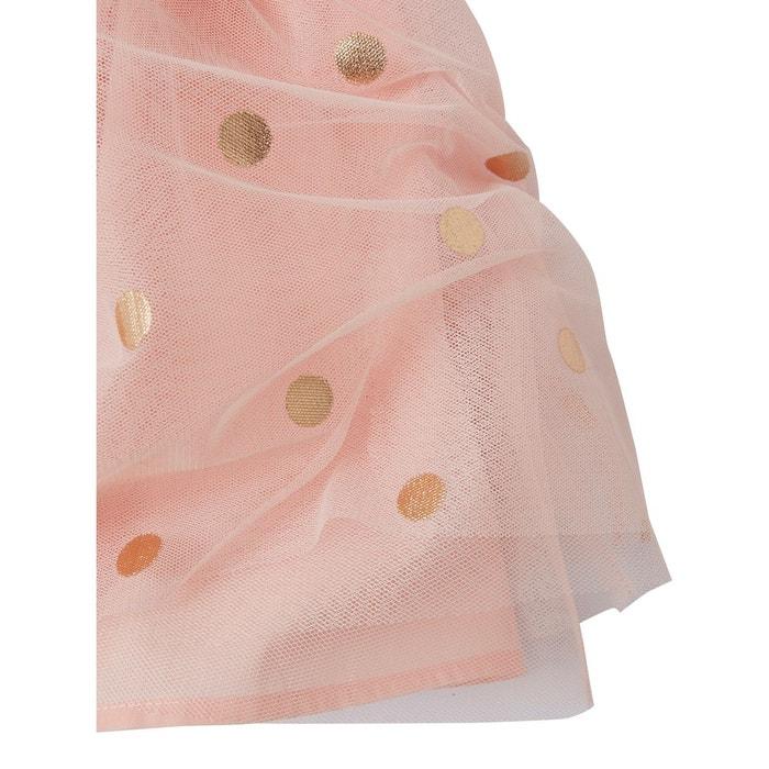 Robe de ceremonie fille rose pale