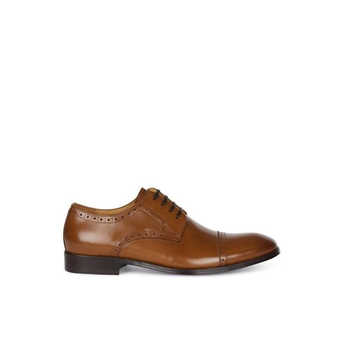 Chaussures richelieu habillées  tan Hardy Amies  La Redoute
