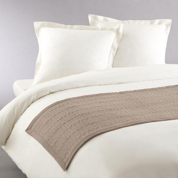 chemin de lit matelass aima la redoute interieurs la redoute. Black Bedroom Furniture Sets. Home Design Ideas