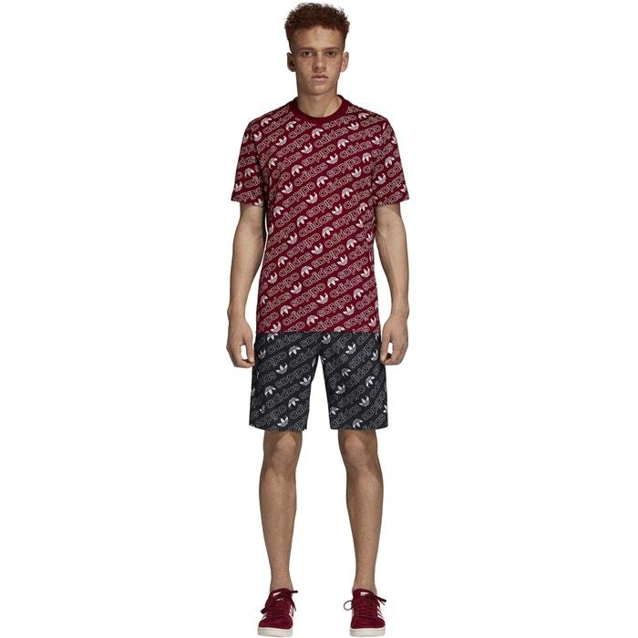 Camiseta y manga corta Adidas originals con cuello redondo 6xwXOanq5Z