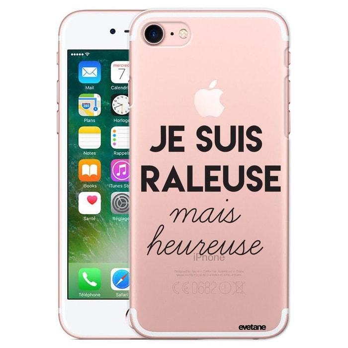 coque iphone 7 ecriture raleuse