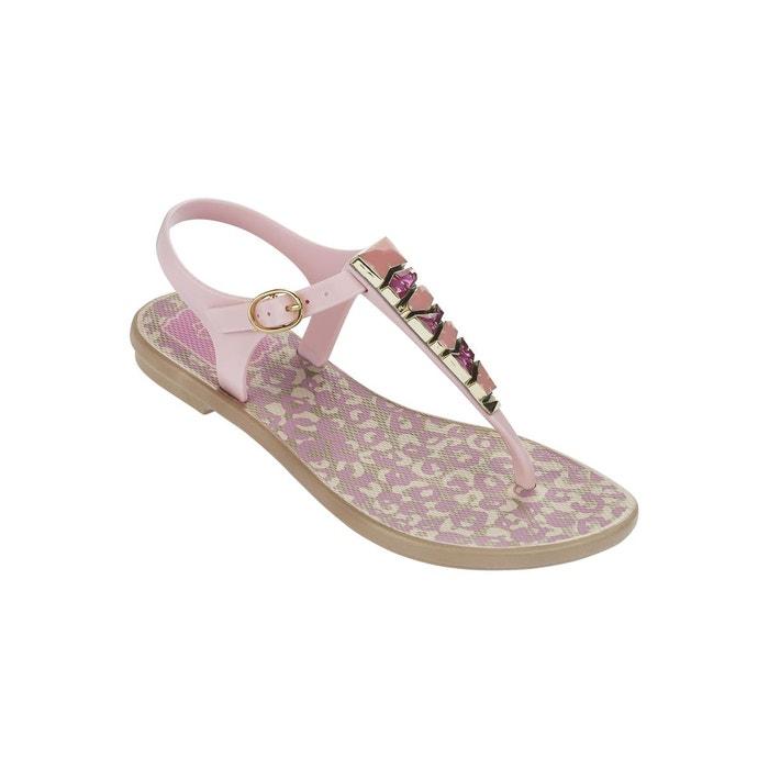 Sandales enfant jewel beige et rose rose Grendha