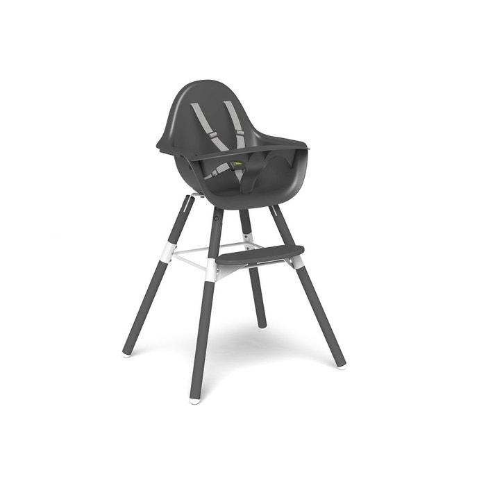 chaise haute b b evolu 2 gris gris 2 en 1 avec arceau 0 childwood la redoute. Black Bedroom Furniture Sets. Home Design Ideas