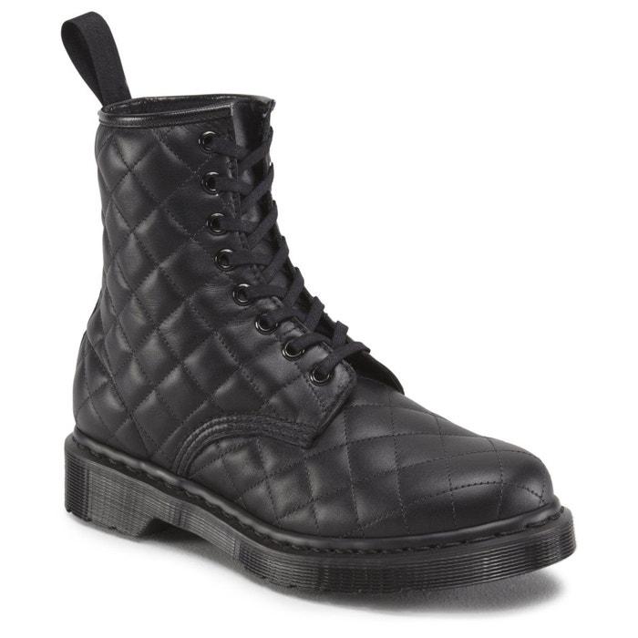 Boots en cuir à lacets  noir Dr Martens  La Redoute