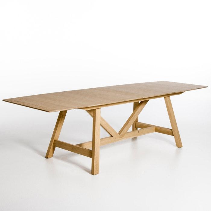 table extensible buondi design ch ne naturel am pm la redoute. Black Bedroom Furniture Sets. Home Design Ideas