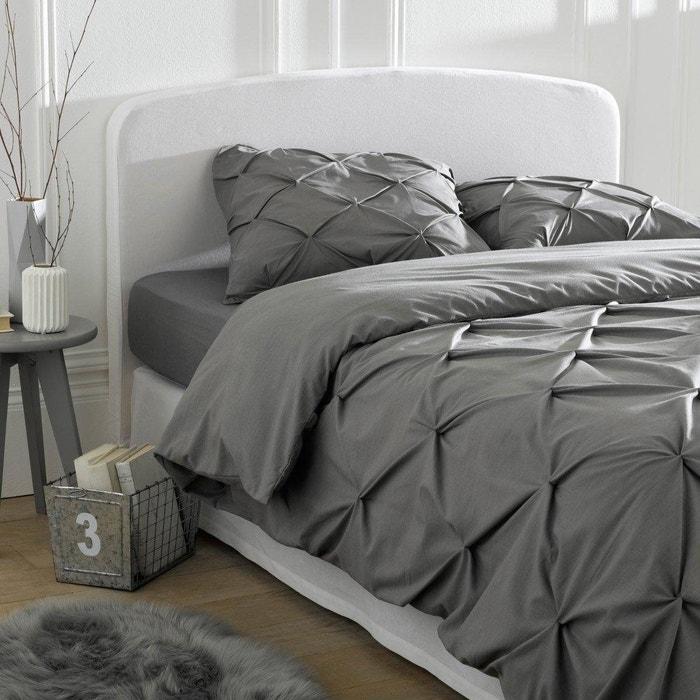 housse pour t te de lit pur coton forme galb e scenario la redoute. Black Bedroom Furniture Sets. Home Design Ideas