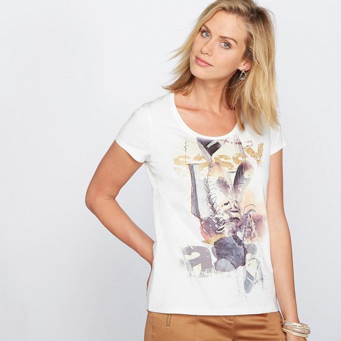 Image Koszulka z nadrukiem ozdobionym cekinkami. ANNE WEYBURN