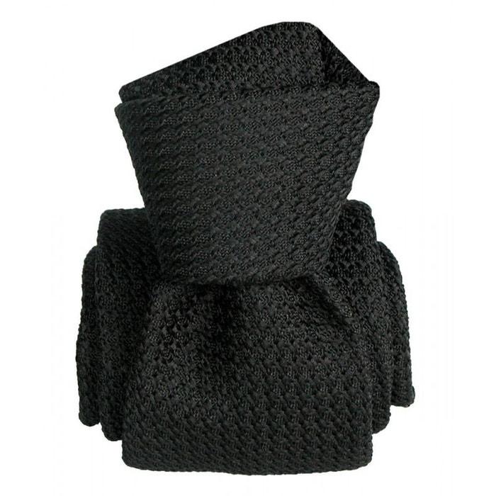Cravate grenadine de soie, segni & disegni, beverly009 noir Segni Et Disegni | La Redoute
