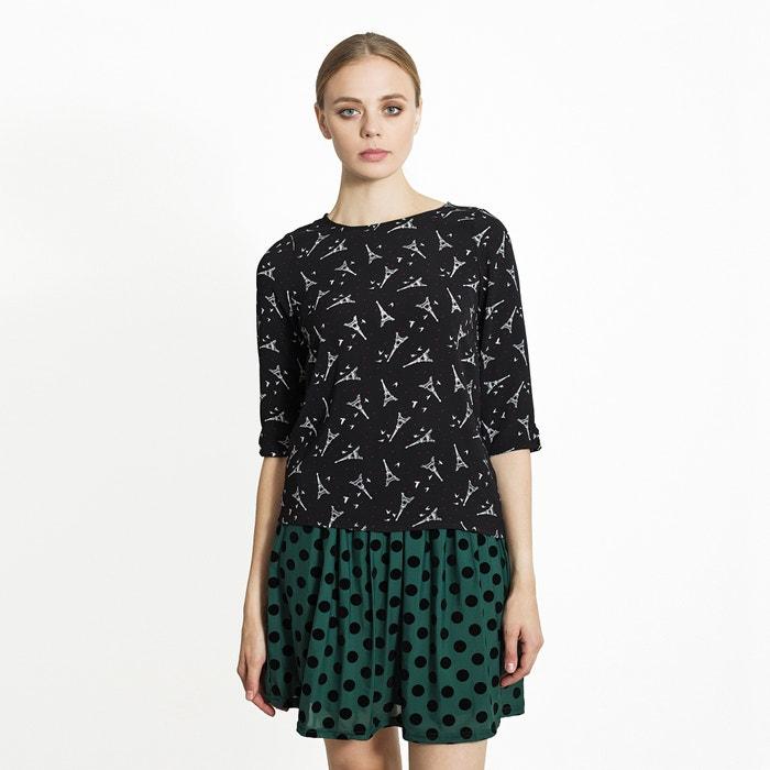 afbeelding Bedrukte blouse MIGLE+ME