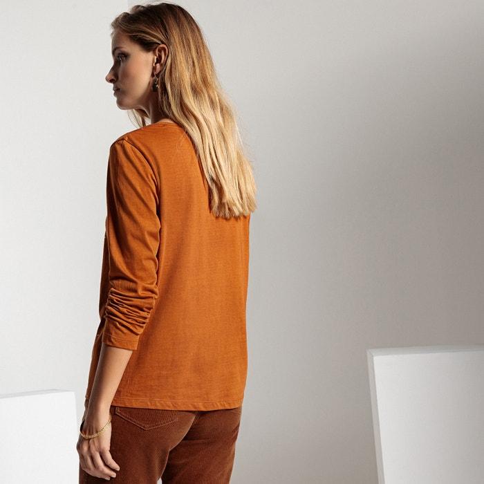 larga y estr cuello con ANNE manga Camiseta redondo WEYBURN 225;s de q1pRZ