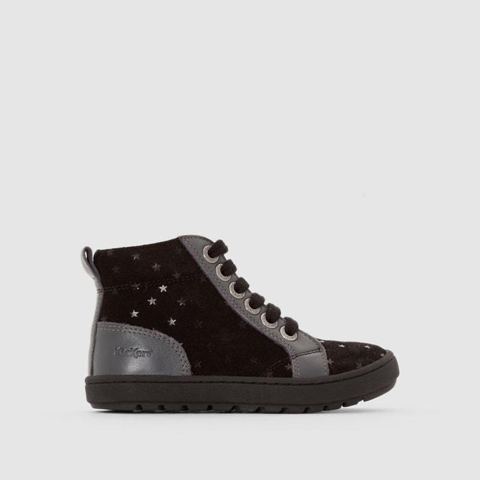 "Hohe Sneakers ""Tatayoyo"", Materialmix, dekorative Sterne  KICKERS image 0"