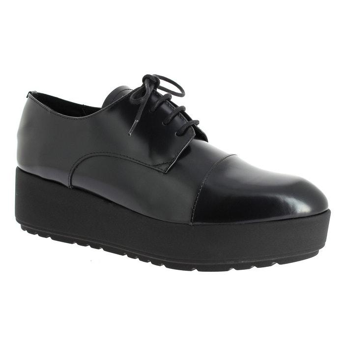 Cid 308 - Chaussures Pour Femmes Lacer / Noir Elizabeth Stuart pkr2KTBRQM