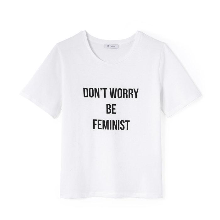 Image Tee-shirt à message La Redoute Collections