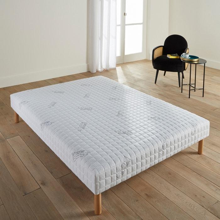 sommier tapissier ressorts reverie best fond blanc gris perle la redoute. Black Bedroom Furniture Sets. Home Design Ideas