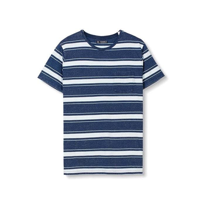 afbeelding Gestreept T-shirt met ronde hals ESPRIT