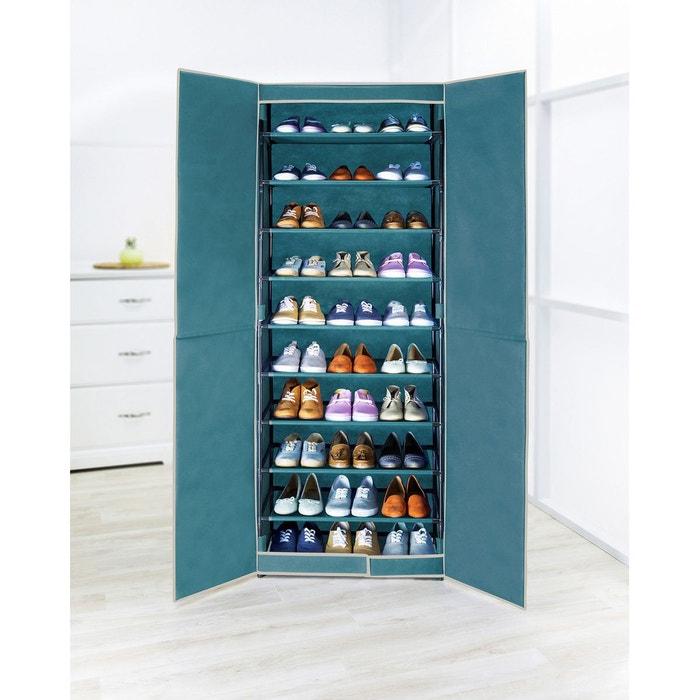 Armoire chaussures en tissus 30 paires 61 x 160 cm - La redoute meuble a chaussures ...