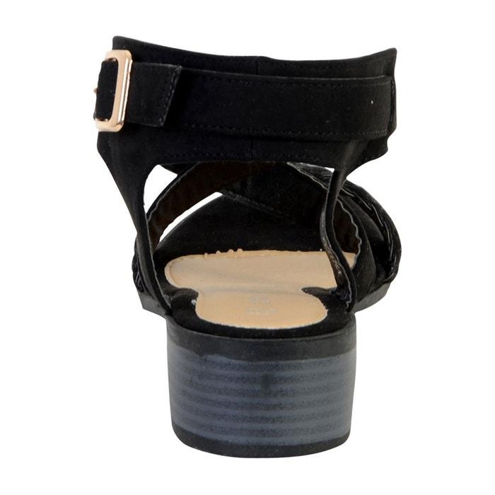 Sandale noir Enza Nucci