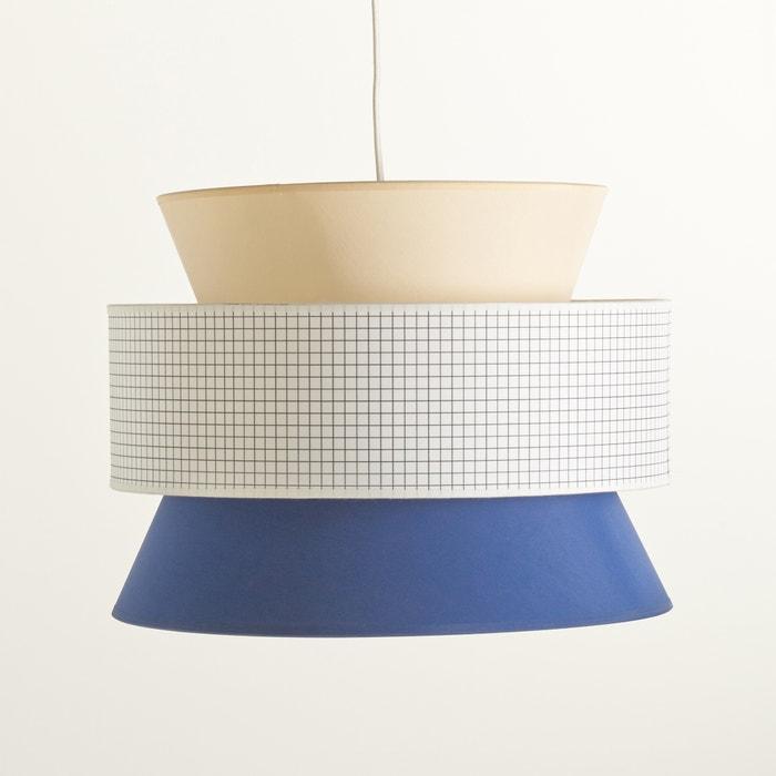 Imagen de Pantalla de lámpara de techo, forma de 3 pantallas, Dolkie La Redoute Interieurs