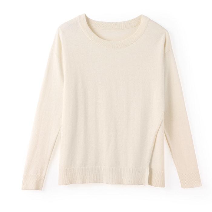 Collections algod seda Jersey 243;n de cuello con Redoute La redondo OqFxSZqw
