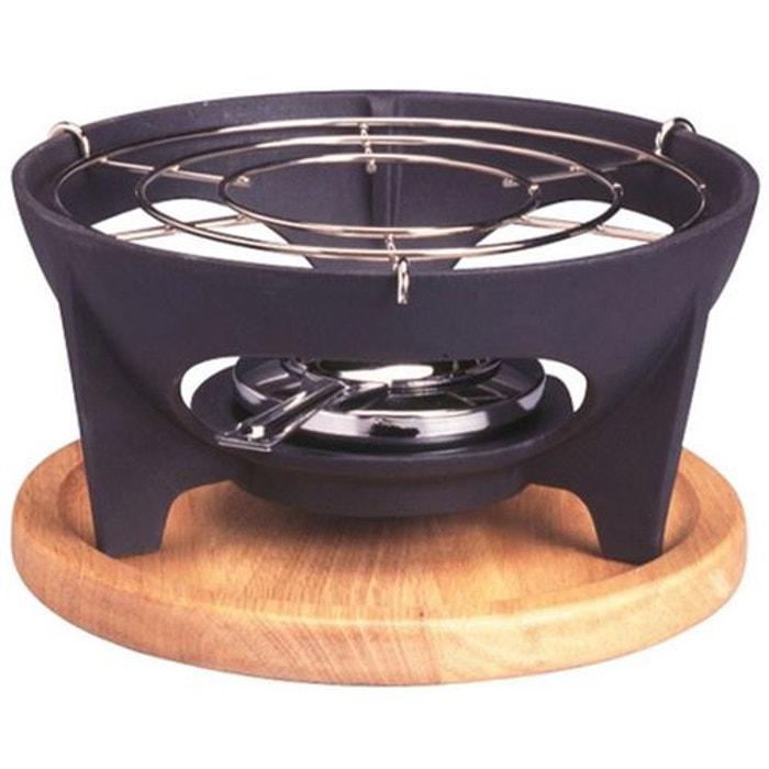 R chaud fonte avec planche pour fondue noir invicta la - Appareil a fondu en fonte ...