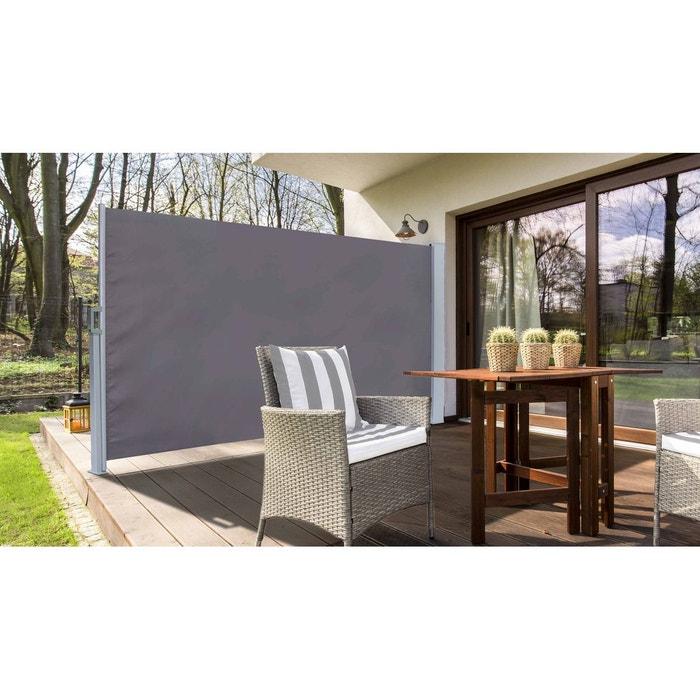 brise vue r tractable l 3 x h 1 60 m couleur unique oviala. Black Bedroom Furniture Sets. Home Design Ideas