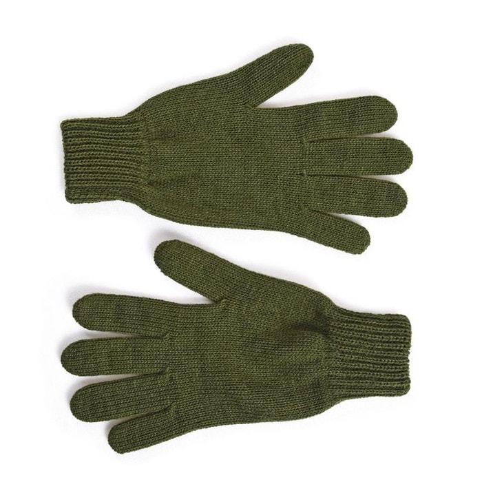 014ebd1fc7f20 Gants femme kaki - fabriqué en france vert Qualicoq | La Redoute