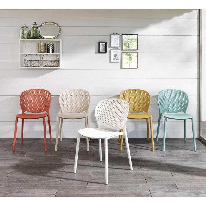 chaise pawan polypropylene kha home design la redoute. Black Bedroom Furniture Sets. Home Design Ideas